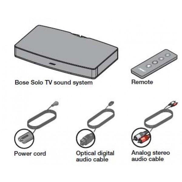 bose solo tv sound system hi fi tv home cinema new. Black Bedroom Furniture Sets. Home Design Ideas