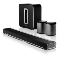 Sonos Home Cinema Package - 1x PLAYBAR, 1x SUB + 2x PLAY:1